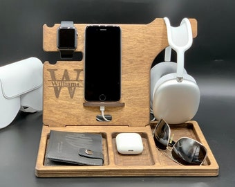 Wooden AirPod Max stand, AirPod Max charger, Headphone Stand, headset stand, headphone hanger, Gaming Headset Stand, Music Lover gift