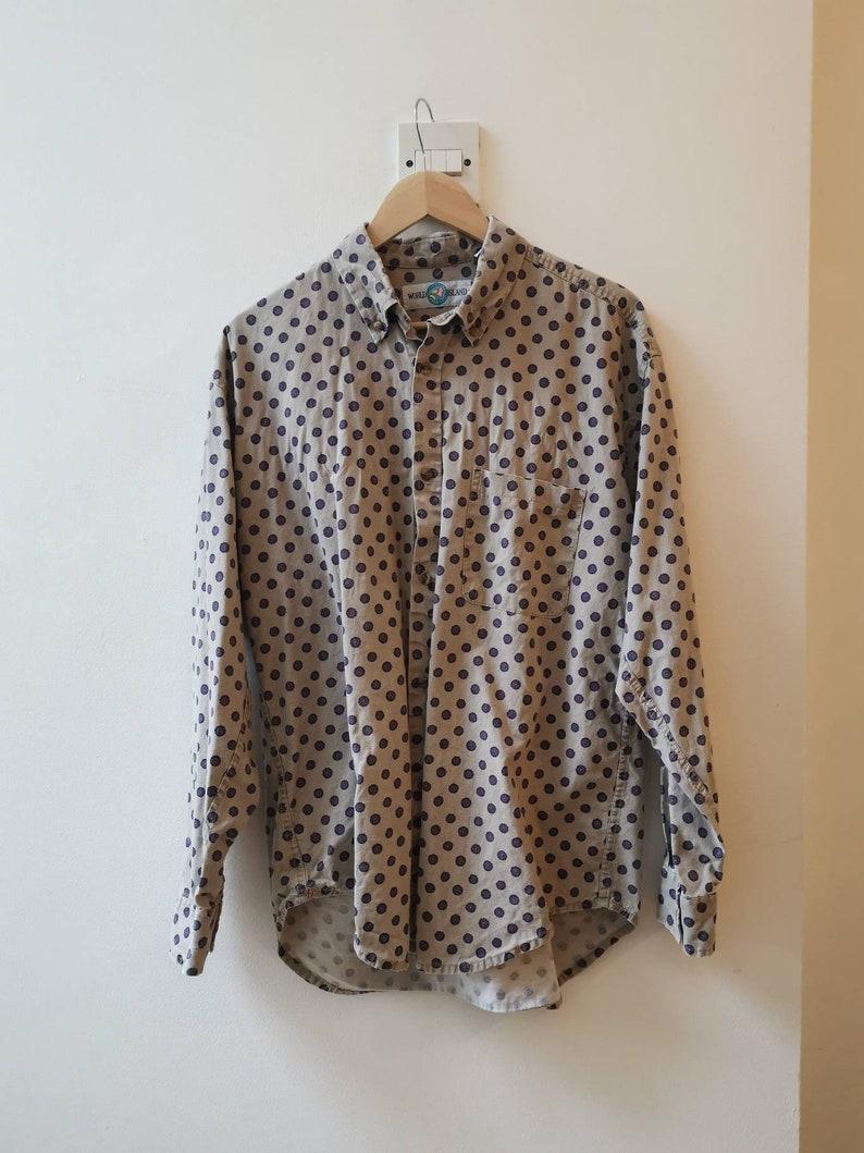 Vintage World Island Shirt Mens Size L