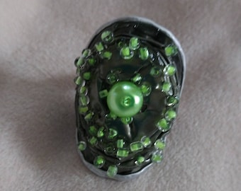 Recycling ring from Nespresso capsule