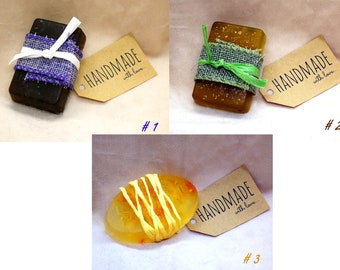 Handmade soap-Choose your favorite color