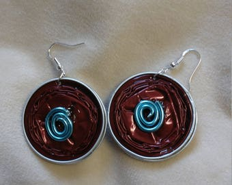 Recycled Nespresso Capsule Earrings-Unique