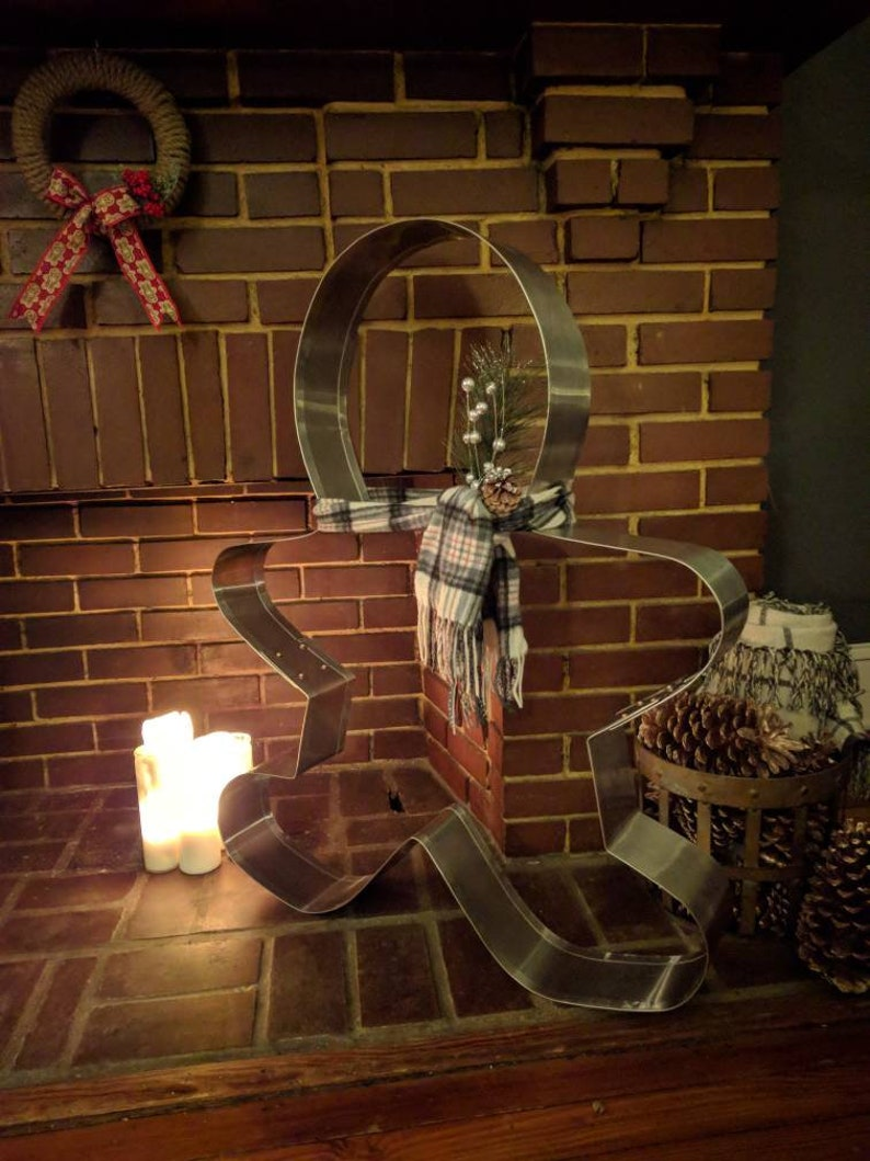Pre Order For Fall 2019 Giant Gingerbread Man Cookie Cutter Decor Get The Hottest Trend Of The Holiday Season Free Shipping