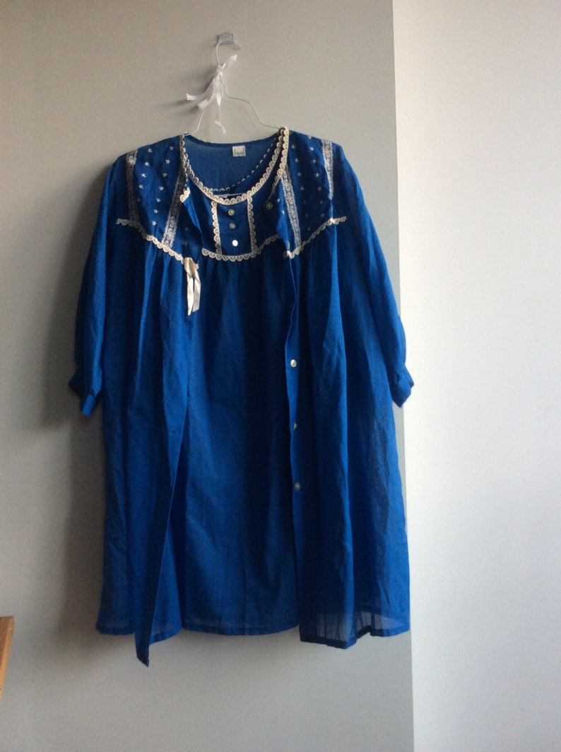 1960s Nightgown and Robe Set Vintage
