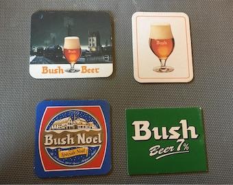 4 pieces Bush Beer Coasters