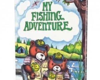 Fishing Book, Personalized Children's Books, My Fishing Adventure, Children's Books, Personalized Fishing Stories, Children Adventure Books