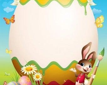 Bunny Letter | Easter Bunny Letter Etsy