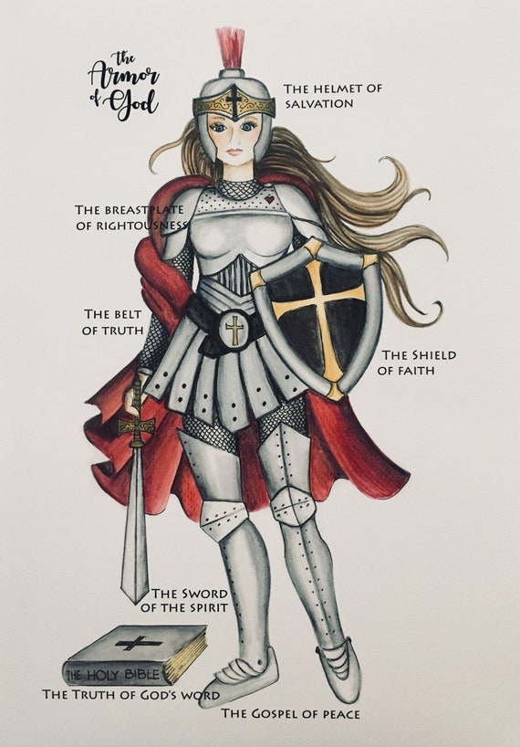 Armor of God Print | Etsy