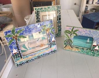 Mosaic Photo Frames