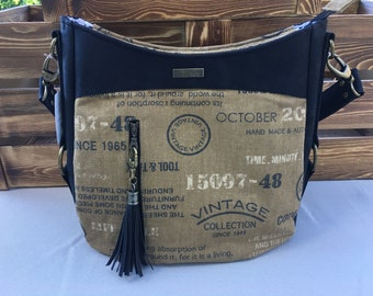 Hollyhock Hobo Handbag