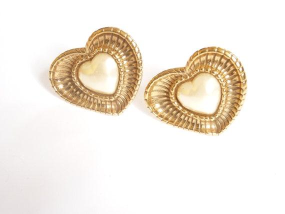 GUY LAROCHE - massive guy Laroche vintage earrings