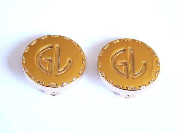 GUY LAROCHE # belle boucles d'oreilles Guy LAROCHE