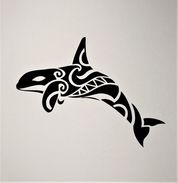 9a8f062e2 Tribal Orca or Killer Whale courtesy of TattooTribes.com | Etsy