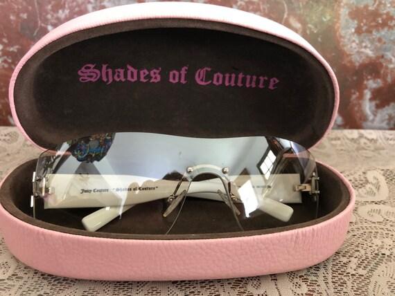 Pristine Italian Juicy Couture Jeweled Sunglasses