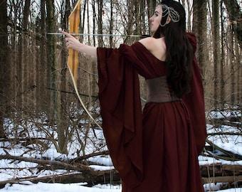 Lady Archer Medieval Renaissance Faire Costume Dress