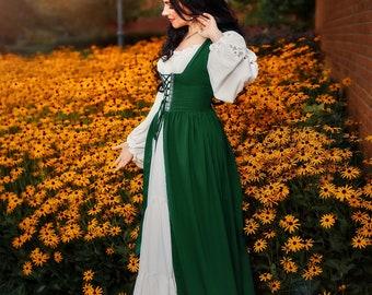 Gaelic Peasant Renaissance Faire Costume Dress