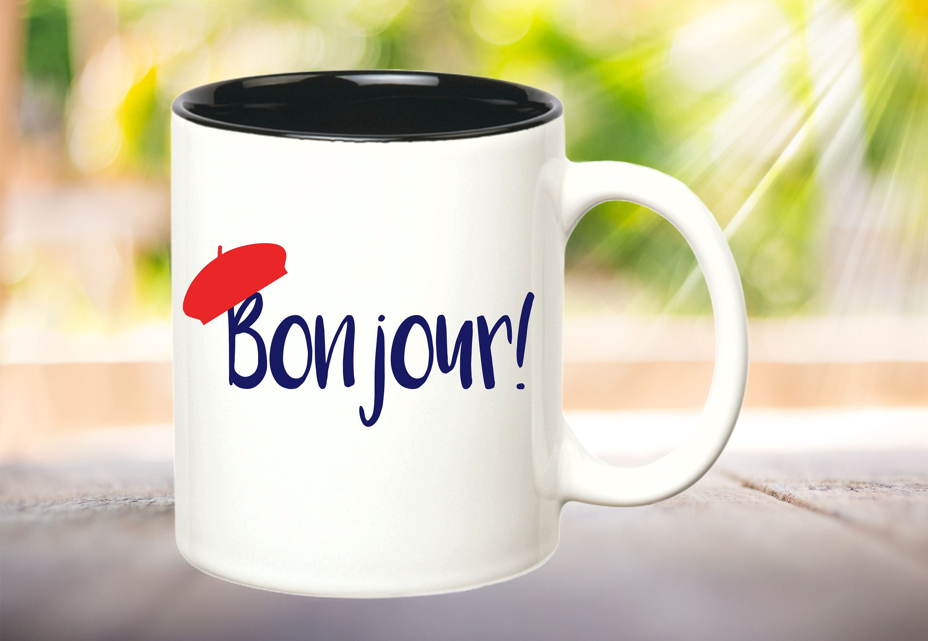 French Coffee Bonjour Mug Lcuf1tj3k Inetsy Gifts Hello XNn0PkwO8
