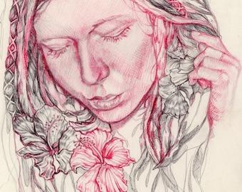 Portrait Study I // Art Print