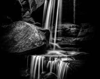 Best of Show - Limited Edition - Large Format Print of Oh My Falls DISTILLED