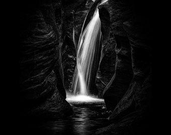 Slot Canyon Falls Distilled