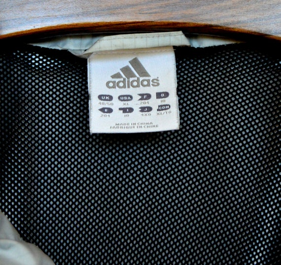 Details about (Extra Large) Youth Retro Hoodie Adidas Track Jacket
