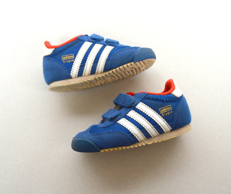 wholesale dealer 0477e b3233 Vintage 90 s Adidas Kid sneakers ADIDAS gym children shoes   Etsy