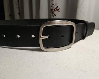 """Mens Leather Belt Men's Belt Distressed Thick Belt Black Belt Leather Belt for men Full Grain Leather belt Handcrafted 1.5"""" Handmade belt"""