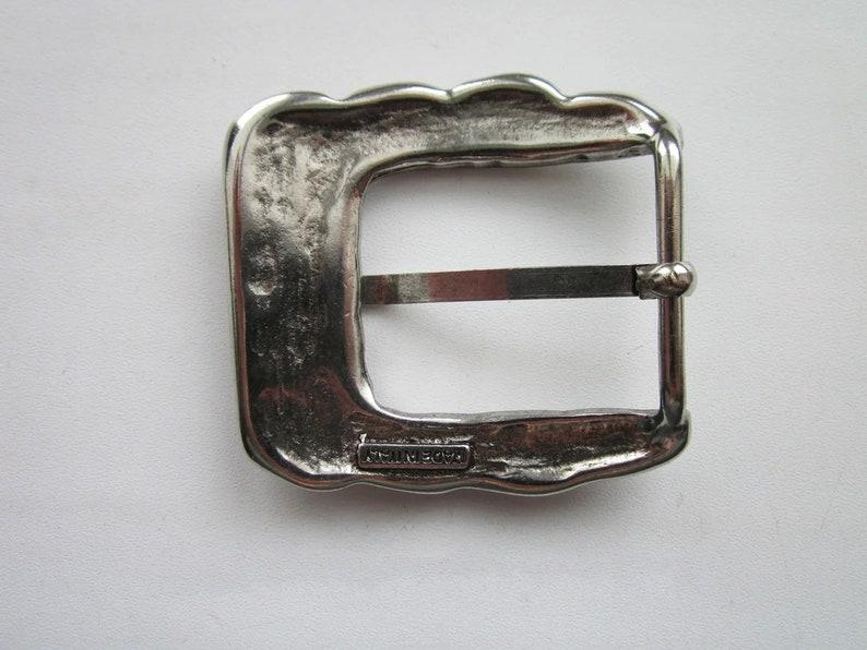 Buckle 1 12 40\u043c\u043c 4cm Belt Silver Buckle Center Bar Buckle for Men Belt Cast buckleBuckles Women Belt Buckles Cast buckle