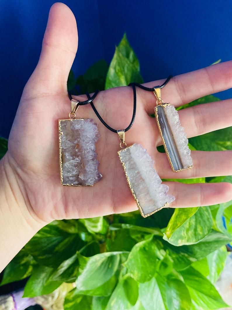 Amethyst Crystal Necklaces