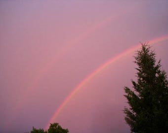 Double rainbow beauty