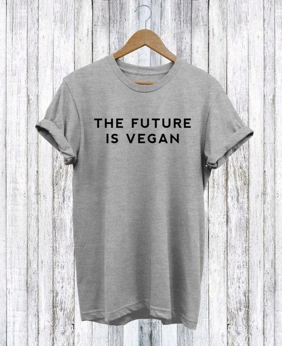 The Future is Vegan T Shirt