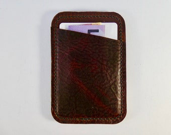 Card Holder, Minimalist Wallet, Gift for Him, Leather Card Holder, Oyster Card Holder, Business Card Holder, Gift for Men, Leather