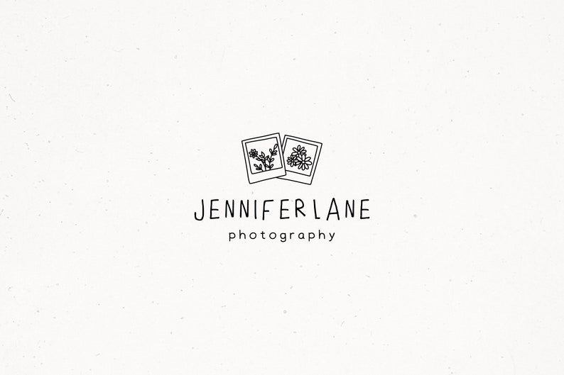 Photography Premade Logo Design Photographer Branding Photo image 0
