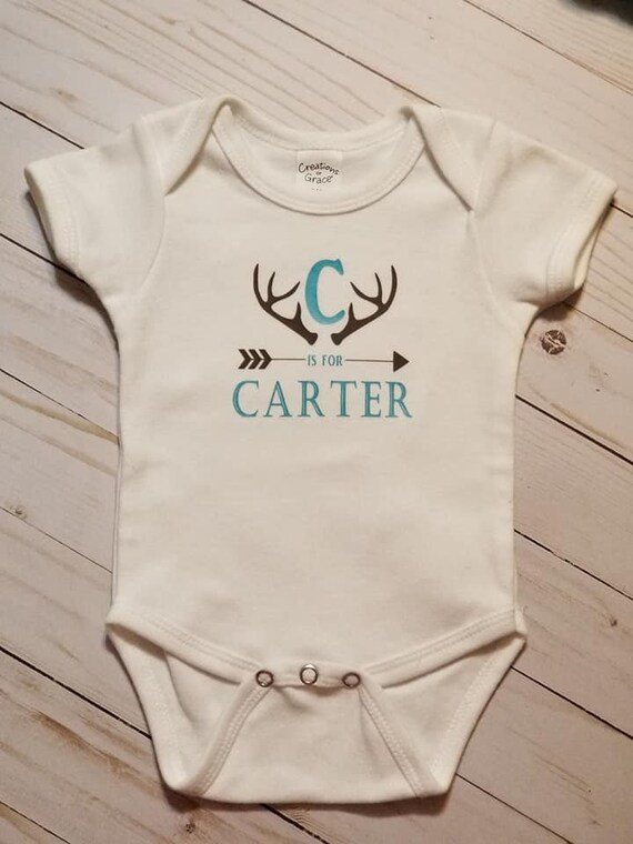 Personalized Baby Clothes Baby Boy Clothes Personalized Baby Bodysuit Baby Girl Clothes Monogram Bodysuit Monogram Baby Clothes