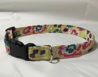 Fashion Collar (Yellow Floral)