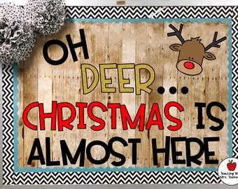 Bulletin Board Ideas For Christmas Etsy