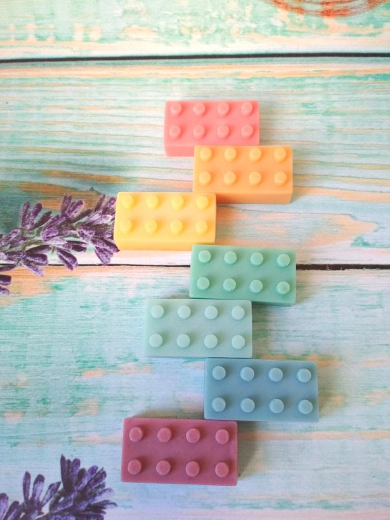 Mini Lego Brick Soaps Birthdays Party Bags Favours  5 10 20 30 50 100