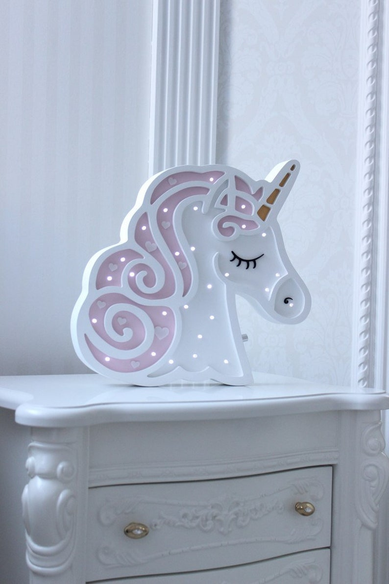Nightlight unicorn unicorn lamp kids' room decorUnicorn image 0