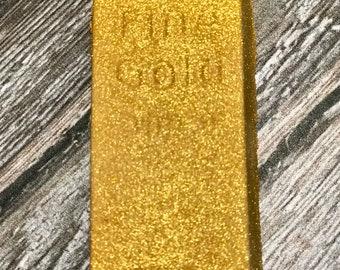 Shimmer Water Gold Bar Bath Bomb