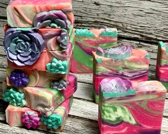 Baja Cactus Handmade Soap