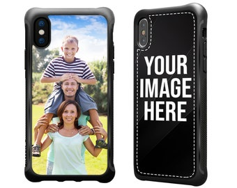 iPhone XS Case Personalized Photo, iPhone X , iPhone 7 Plus Case, iPhone 8 Plus Case Custom Picture Durable Shockproof Unique Gift Idea