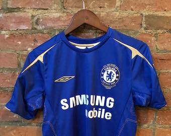002727d77ba Chelsea FC Soccer Jersey | Crespo | Size S