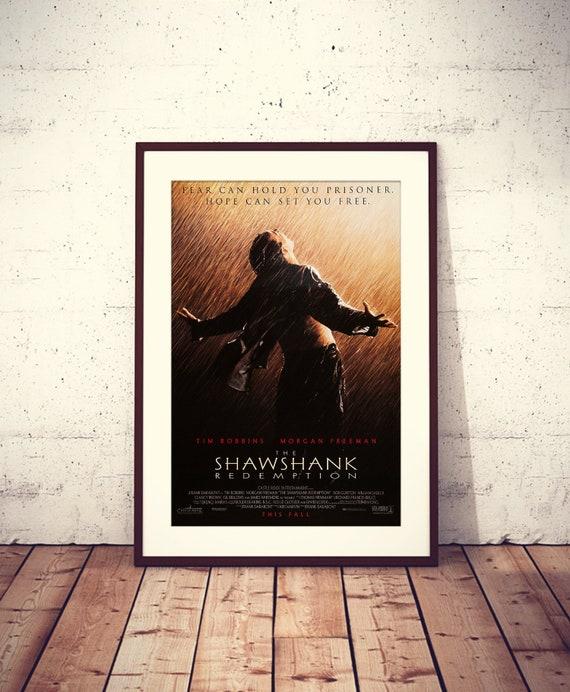 THE SHAWSHANK REDEMPTION MOVIE POSTER FILM A4 A3 ART PRINT CINEMA