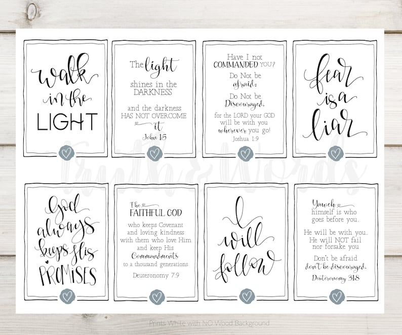 photograph regarding Printable Scripture Cards named Printable Scripture Playing cards, Bible Verse prints,prayer magazine, notecards, Hand Lettered, Day by day Planner, bible Journaling, Greeting Playing cards,