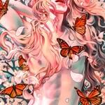 "Choose: Winter Messenger Autumn Thief Spring Fever Summer Dragon Art Print 11"" x 17"" Art nouveau fox owl snow rabbit fantasy seasons"