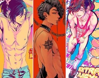 "choose: Sex Therapy by CATHEXIS 11"" x 17"" art print BL comic yaoi manga gay queer m|m original"