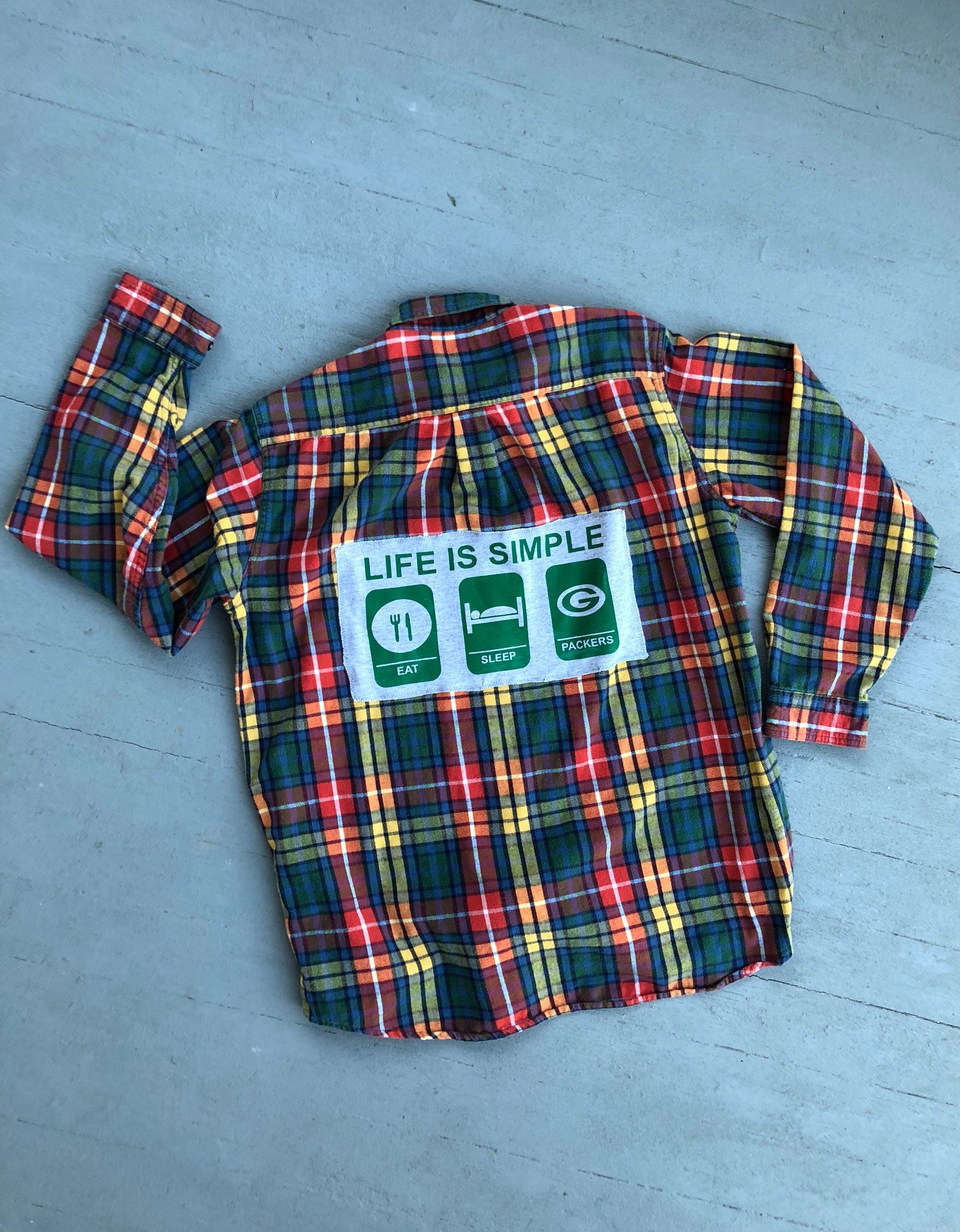 cd4e82833 Packers Flannel Shirt Womens