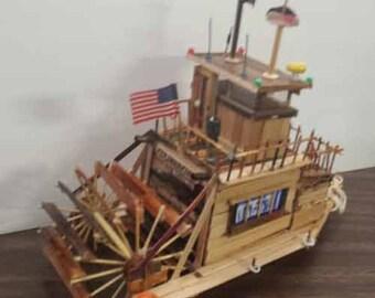 Paddle-wheel Tugboat - the Colonoscopy