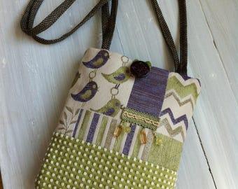 One-Of-A-Kind Hand Sewn Purse