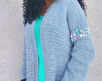 Another Beaded Cardigan