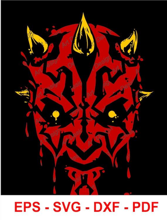 Maul Wars Etsy Art dxf Vector eps Disney pdf svg Star Clip Darth BqxA6dwSBO